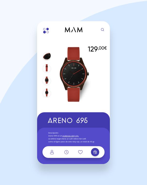 Diseño web / Aplicación / UX & UI interfaces